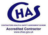 The official logo of The Contractors Health and Safety Assessment Scheme.