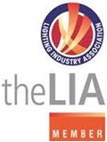 The official logo of the Lighting Industry Association.