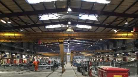 North Yorkshire Plant - Full Site Lighting